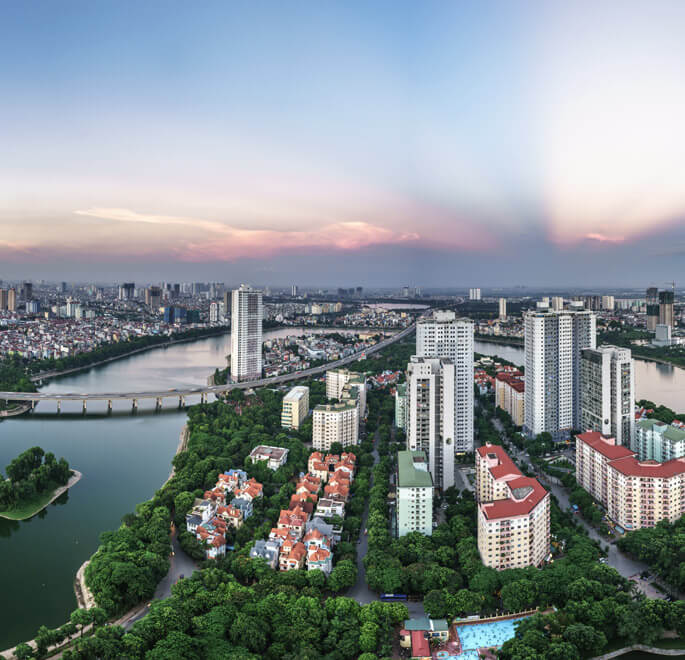 At a Glance - The Five Residences Hanoi