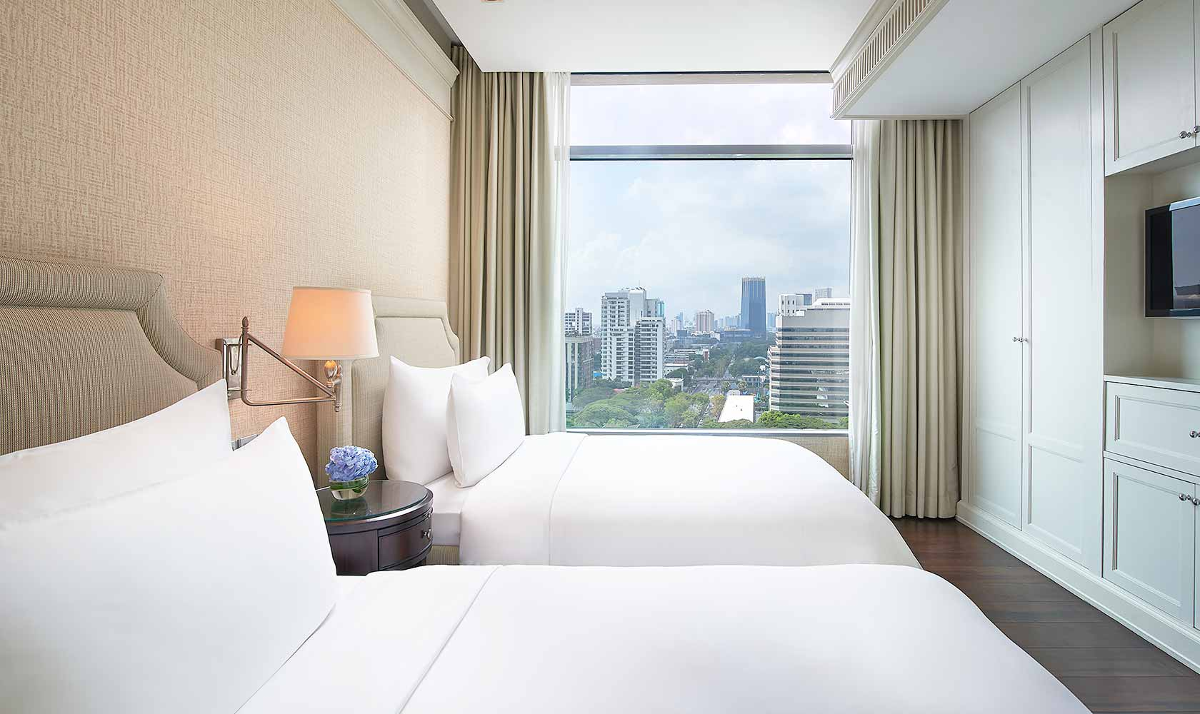 Second bedroom in Two Bedroom Suite - Oriental Residence Bangkok